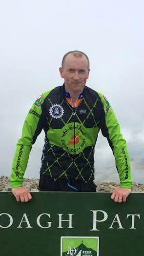 Tour de Conamara blogger John McDonnell